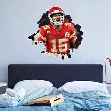 Kansas City Chiefs 3 Custom Wall Decals 3D Wall Stickers Art - JO364