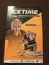 Pittsburgh Penguins Matt Murray Ice Time Program 2018 Stanley Cup Playoff Gm 3