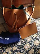 NEW Dooney & Bourke Montecito Serena Butterscotch Bucket Bag NWT $348 Retail