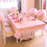 Rectangle Table Cover Dining Table Cover for Banquet Wedding Party Decoration CO