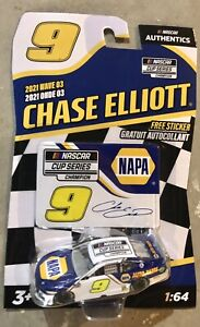 CHASE ELLIOTT #9 CUP SERIES CHAMPION 1:64 Nascar Authentics Wave 3 2021