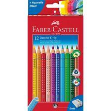 Faber-Castell Buntstifte Malstifte ergonomische Farbstifte Jumbo Grip 12er-Set