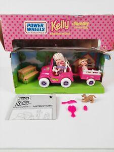 KELLY, BARBIES Babysitter & Tommy Motorized Power Wheels JEEP set Mattel 1997