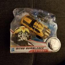 Transformers Dark of the Moon Mechtech Autobot Nitro Bumblebee 2010 Hasbro NIB