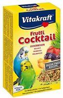 Vitakraft - Fruit Cocktail Budgie Feed - Treats for Birds - 200g