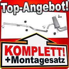 Seat Altea Leon 1.6 16V 75KW 102PS Endtopf Auspuff Auspuffanlage Abgasanlage