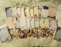 Kawaii San-X Sentimental Circus Loose Mini Memo Sheets 20pcs (1) AND Stickers!
