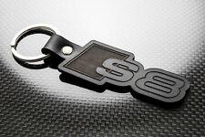 Audi S8 Leather Keyring, Keychain, Schlüsselring Porte-clés QUATTRO A8 TFSI D2