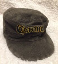 Corona Womens Hat Corduroy Green