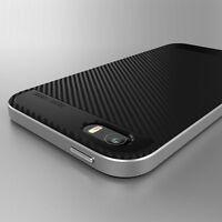 Slim Luxe Coque Etui Silicone Armor Housse Bumper Case Pour iPhone 5 5S SE
