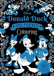 Disney Donald Duck & Friends Colouring by Igloo Books - Paperback 2021  New Book