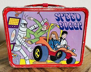 Vintage 1974 Speed Buggy Metal Lunchbox, No Thermos. clean!