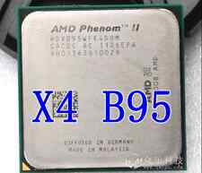 Free Shipping AMD Phenom II X4 B95 3.0GHz Quad Core 95W AM2+ / AM3 HDXB95WFK4DGM