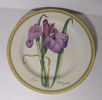 "American Atelier BOTANICAL 8"" Salad / Dessert Plates Iris"