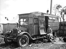 1927 Chevrolet Completely Wooden Motor Home  8 x 10 Photograph