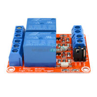 5V 2-Channel Relay Module With Optocoupler Support High and Low Level Trigger