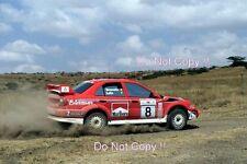 Freddy Loix Mitsubishi Lancer Evo 6.5 1000 Lakes Rally 2001 Photograph 6