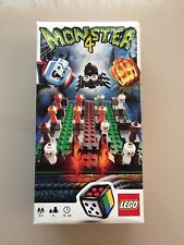 LEGO Monster 4 Game 3837 With Spider Buildable Dice Ghosts Swap Scare Roll Win