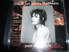 Joan Jett And The Blackhearts ‎– Pure And Simple CD