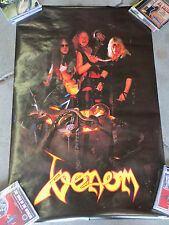 Venom - Poster 1980's Standard size Death Metal /Black Metal  Welcome to Hell