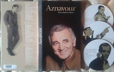 RARE COFFRET LONG BOX 3 CD CHARLES AZNAVOUR D UN SIECLE A L AUTRE