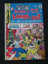 Archie's T.V. Laugh-out #18 F/Vf 1973 Mid Grade Comic Book