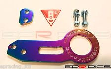 EPR Neo Chrome Rear Tow hook For Toyota Yaris AE86 Chaser MR2 Supra Celica IS200