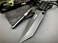 "7"" TACTICAL COMBAT SURVIVAL Boot Tanto HUNTING KNIFE Bowie Military Fixed Blade"