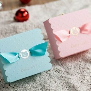 European Baby Boy Girl Party Angel Candy Boxes Baby Shower Favors Baby Birthday