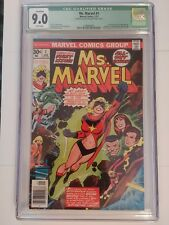 MS. MARVEL #1 CGC 9.0 QUALIFIED FIRST ISSUE CAROL DANVERS CAPTAIN MARVEL