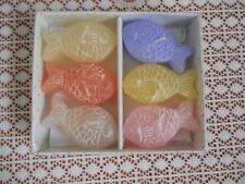 Vintage Scott'S Collectables Fish Candles Set Of 6