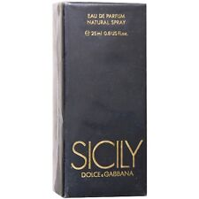 SICILY DOLCE & GABBANA  - 25 ml  0.8 fl. oz - EUROITALIA VERY HARD TO FIND