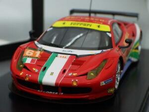 "1/43 Fujimi FERRARI F458 ITALIA GT2 #61 ""AF CORSE"" LE MANS 2013"