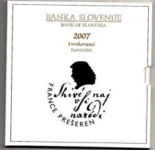 Coffret BU Slovénie 2007