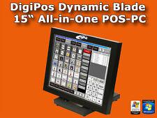 "Digi POS Dynamic Blade | All-in-One cassa | 38,7cm (15"") Touchscreen | Digipos"