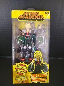 """Mega Merge My Hero Academia Katsuki Bakugo 3.75"""" Figure Brand New #14"""