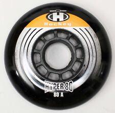 1 Set = 8 Hyper 80mm 80A für 608 Black Inline Rollen Roll-Hockey