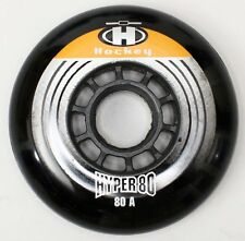 1 set = 8 Hyper 80mm 80a para 608 Black inline roles roll-Hockey