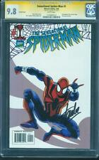 Sensational SPIDER MAN 1 Poly Variant CGC SS 9.8 Stan Lee Signed Amazing Rare