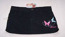 Billabong Billy Girls Black Butterfly Printed Betty Skirt Skirt Size 12 New