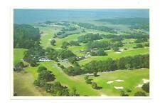 ST SIMONS ISLAND GA Golf Club Vtg Georgia Aerial View