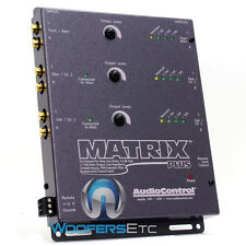 AUDIO CONTROL MATRIX PLUS GRAY 6-CHANNEL CAR STEREO LINE DRIVER AUDIOCONTROL NEW