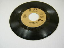 Jerry Wallace All I Want Is You/With Pen In Hand 45 RPM United Artists Records