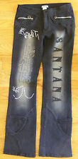 """""""iNTi"""" Concert Santana Boot Cut Mid Rise Embellished Junior Jeans Size S - CL071"""