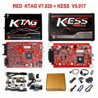 Unlimited Master Online ECU Kit Red KESS V2 V5.017+KTAG V7.020 Programmer Tool