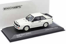 AUDI Sport Quattro White 1984 1/43 Minichamps 943012124