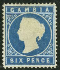 Gambia   1880  Scott # 10  Mint Lightly Hinged