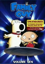 Family Guy ~ Volume 10 Brand New (3-Disc Dvd Set) 14 Episodes!