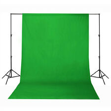 Background Backdrop 100% Cotton Muslin 3M x 6M Meter Studio Photography - Green