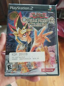 Yugioh Capsule Monster Coliseum 2004 PlayStation 2 New GEM MINT WITH CARDS Rare